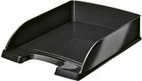 Tavita A4 pentru documente WOW Leitz negru metalizat