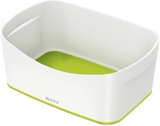Tavita depozitare MyBox Leitz alb/verde