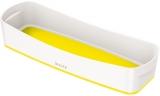 Organizer tavita lunga MyBox Leitz alb/galben