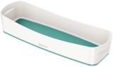 Organizer tavita lunga MyBox Leitz alb/turcoaz