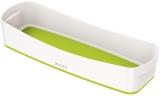 Organizer tavita lunga MyBox Leitz alb/verde