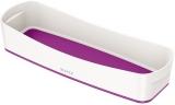 Organizer tavita lunga MyBox Leitz alb/mov