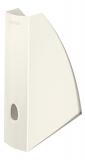 Suport vertical pentru documente WOW Leitz alb metalizat