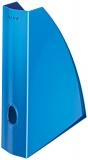 Suport vertical pentru documente WOW Leitz albastru metalizat