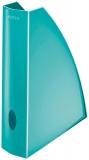 Suport vertical A4 pentru documente WOW Leitz turcoaz metalizat