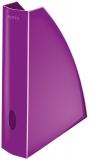 Suport vertical A4 pentru documente WOW Leitz mov metalizat