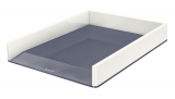 Tavita documente culori duale WOW Leitz alb metalizat