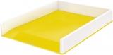 Tavita documente culori duale WOW Leitz alb/galben