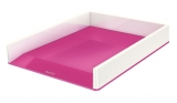 Tavita documente culori duale WOW Leitz alb/roz