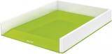 Tavita documente culori duale WOW Leitz alb/verde