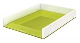 Tavita documente culori duale WOW Leitz verde metalizat
