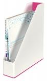 Suport vertical in culori duale WOW Leitz roz metalizat