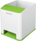 Suport instrumente de scris cu amplificare sunet WOW Leitz alb/verde