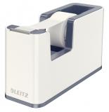 Dispenser banda adeziva WOW Leitz alb/gri