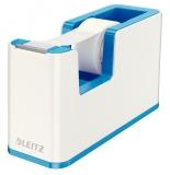 Dispenser banda adeziva WOW Leitz alb/albastru