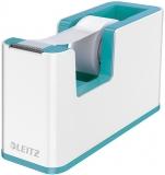 Dispenser banda adeziva WOW Leitz alb/turcoaz