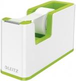Dispenser banda adeziva WOW Leitz alb/verde