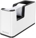 Dispenser banda adeziva WOW Leitz alb/negru