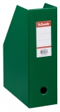 Suport vertical PVC, pt documente, 10 cm, VIVIDA verde, Esselte