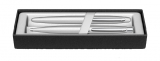 Set stilou si pix VFM Strobe argintiu NT Sheaffer