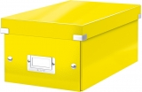 Cutie pentru DVD-uri Click & Store WOW Leitz galben