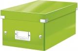 Cutie pentru DVD-uri Click & Store WOW Leitz verde