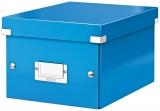 Cutie Click&Store WOW, A5, pentru depozitare, albastru, Leitz