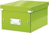 Cutie Click&Store WOW, A5, pentru depozitare, verde, Leitz