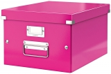 Cutie Click&Store WOW, A4, pentru depozitare, roz, Leitz