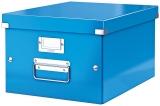 Cutie Click&Store WOW, A4, pentru depozitare, albastru, Leitz