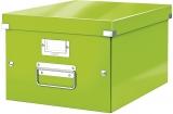 Cutie Click&Store WOW, A4, pentru depozitare, verde, Leitz
