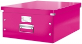 Cutie mare Click & Store WOW Leitz roz metalizat
