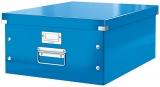 Cutie mare Click & Store WOW Leitz albastru metalizat