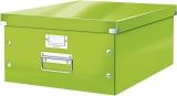 Cutie mare Click & Store WOW Leitz verde metalizat