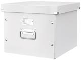 Cutie pentru dosare suspendabile Click & Store Leitz alb