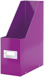 Suport vertical pentru documente Click&Store WOW Leitz mov metalizat