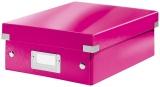 Cutie Click&Store WOW, A5, Organizer, roz, Leitz