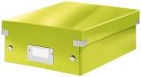 Cutie A5 Organizer Click&Store Leitz WOW verde metalizat