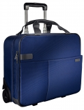 Geanta Complete cu 2 rotile Smart Traveller albastru-violet Leitz