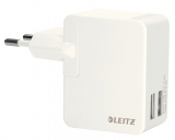 Incarcator universal pentru perete Duo 12W alb Complete Leitz