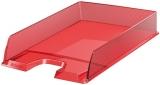 Tavita A4 pentru documente Europost Esselte rosu transparent