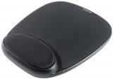 Mouse Pad Gel cu suport negru pentru incheietura integrat, Kensington