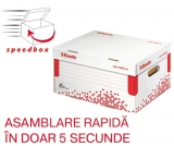 Container de arhivare cu capac S Speedbox Esselte
