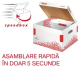 Container de arhivare cu capac M Speedbox Esselte