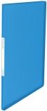 Mapa de prezentare, Vivida, coperta moale, PP, 40 folii, albastru, Esselte