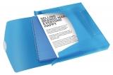 Mapa Jumbo cu elastic, PP, VIVIDA albastru, Esselte