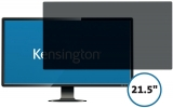 Filtru confidentialitate monitor 21.5 inch, 16:9, 2 zone, detasabil, Kensington