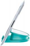 Suport rotativ pentru iPad/tableta/iPhone/smartphone Complete WOW Leitz turcoaz metalizat