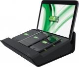 Incarcator multifunctional XL pentru echipamente mobile Complete Leitz negru
