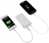 Incarcator portabil cu USB Complete LEITZ alb